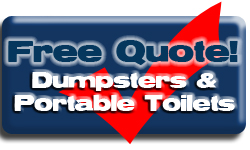 Get Quote of Dumpsters & Portable Toilets