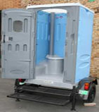 Trailer-Mounted Toilets